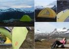 Bilder av teltet