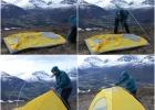 Oppsett av teltet del 1
