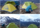 Oppsett av teltet del 2